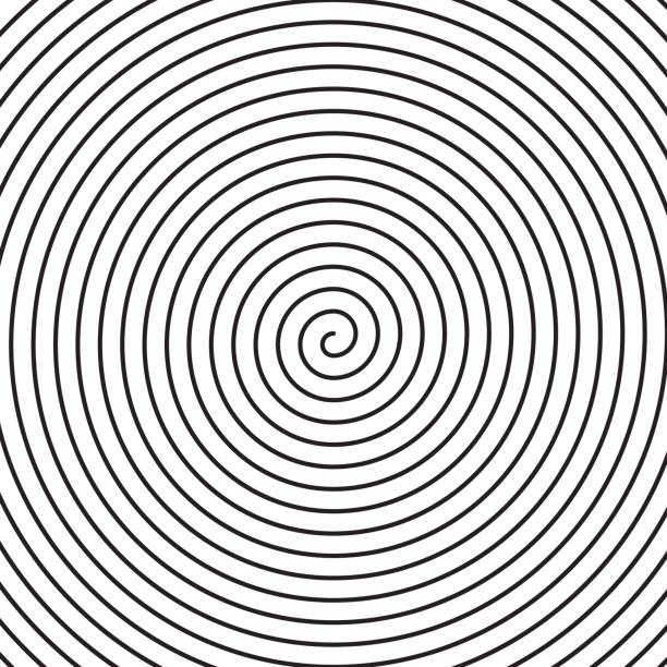 vector spiral background. - spiral stock illustrations, clip art, cartoons, & icons