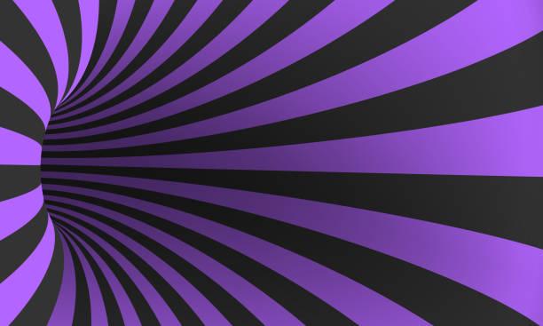 Vector Spiral Optical Illusion Template vector art illustration
