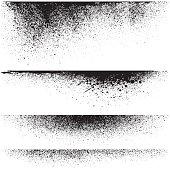 Vector splatter backgrounds
