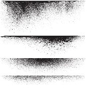 Vector splatter backgrounds