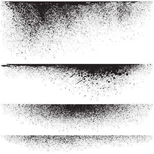 Vector splatter backgrounds Vector splatter backgrounds splattered stock illustrations