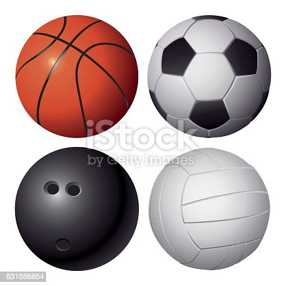 istock Vector Sport Balls 531556654