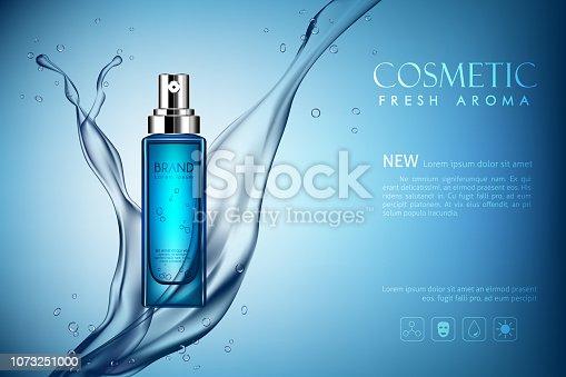 istock vector spray bottle fresh aroma cosmetic 1073251000