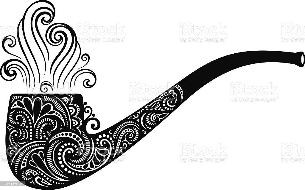 Ilustración de Vector Símbolo De Día De San Patricio El Tabaco De ...