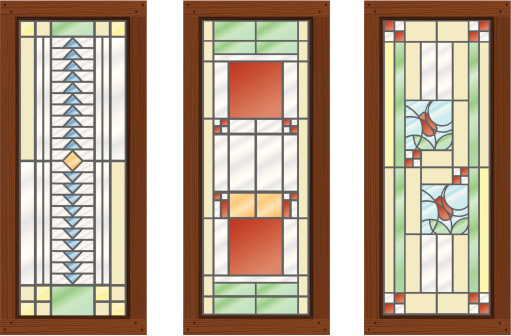 Vector Stained Glass WIndows
