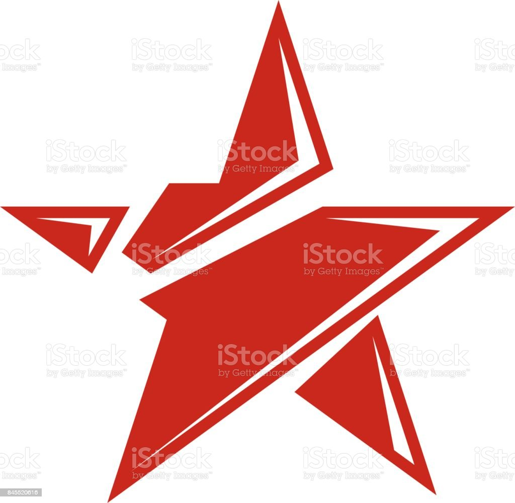Vector Star Illustration As The Symbol Of Success Can Be Used As The