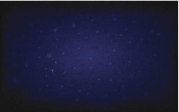 vector starry blackboard - dark blue stock illustrations