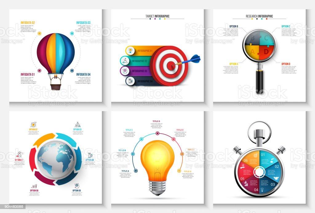 45df0dcb18f Ilustração de Inicialização De Vetor Pesquisas Criativo Infográficos ...