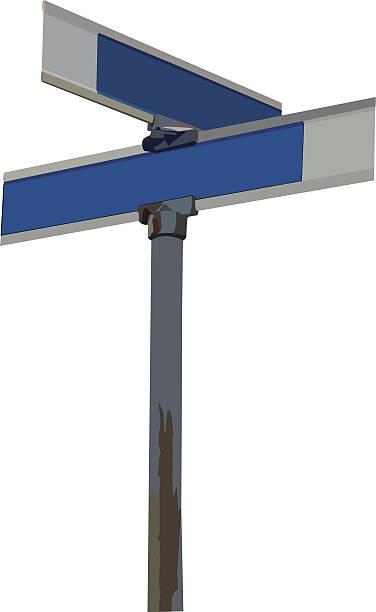 ilustraciones, imágenes clip art, dibujos animados e iconos de stock de señal de vector street - señalización vial