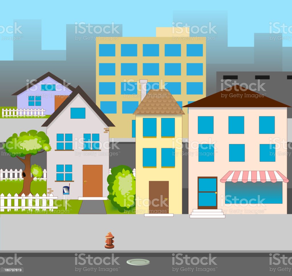 vector street royalty-free vector street stock vector art & more images of architecture