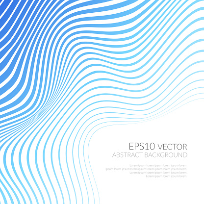 Vector Strips Abstract Background