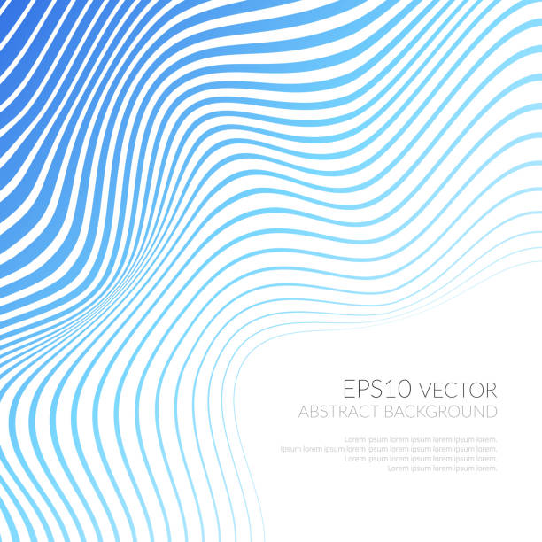 vector strips abstract background - wir kształt stock illustrations