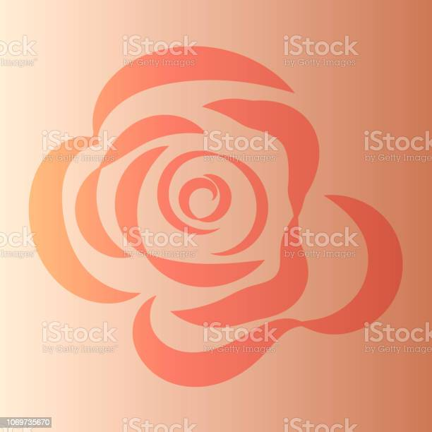 Vector stylish redorange rose on orange gradient background vector id1069735670?b=1&k=6&m=1069735670&s=612x612&h=wjgkvqzaxlkaom10ujwwienscmxw k6 cg4wffpw ve=