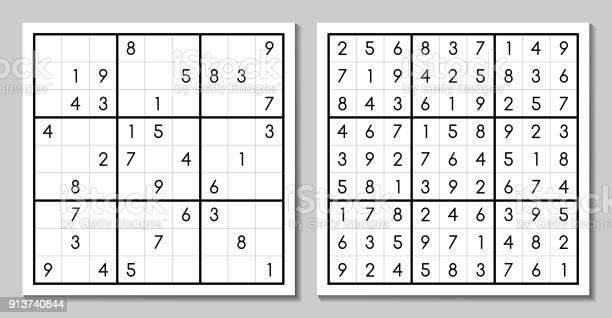 Vector sudoku with the answer japanese game vector id913740844?b=1&k=6&m=913740844&s=612x612&h=heixiepi  d7h0dftigoqzbucsd qcz5ecpkrinjhrc=