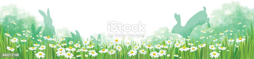 istock Vector summer nature  background. 640212168