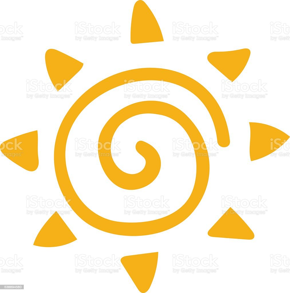 vector sun icon isolated on white background stock vector art more rh istockphoto com sunflower vector icon sunburst icon vector