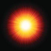 Vector Sunburst Background