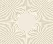 Line art vector sunburst