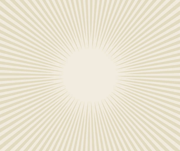 vector sunburst - retro and vintage background stock illustrations