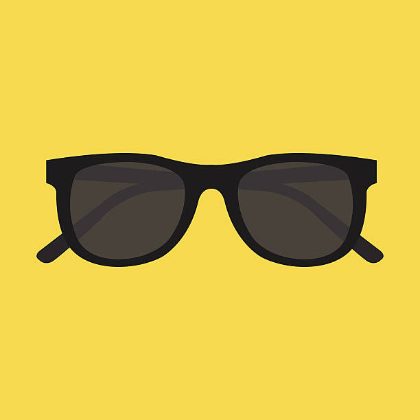 vector sunglasses icon - sunglasses stock illustrations, clip art, cartoons, & icons