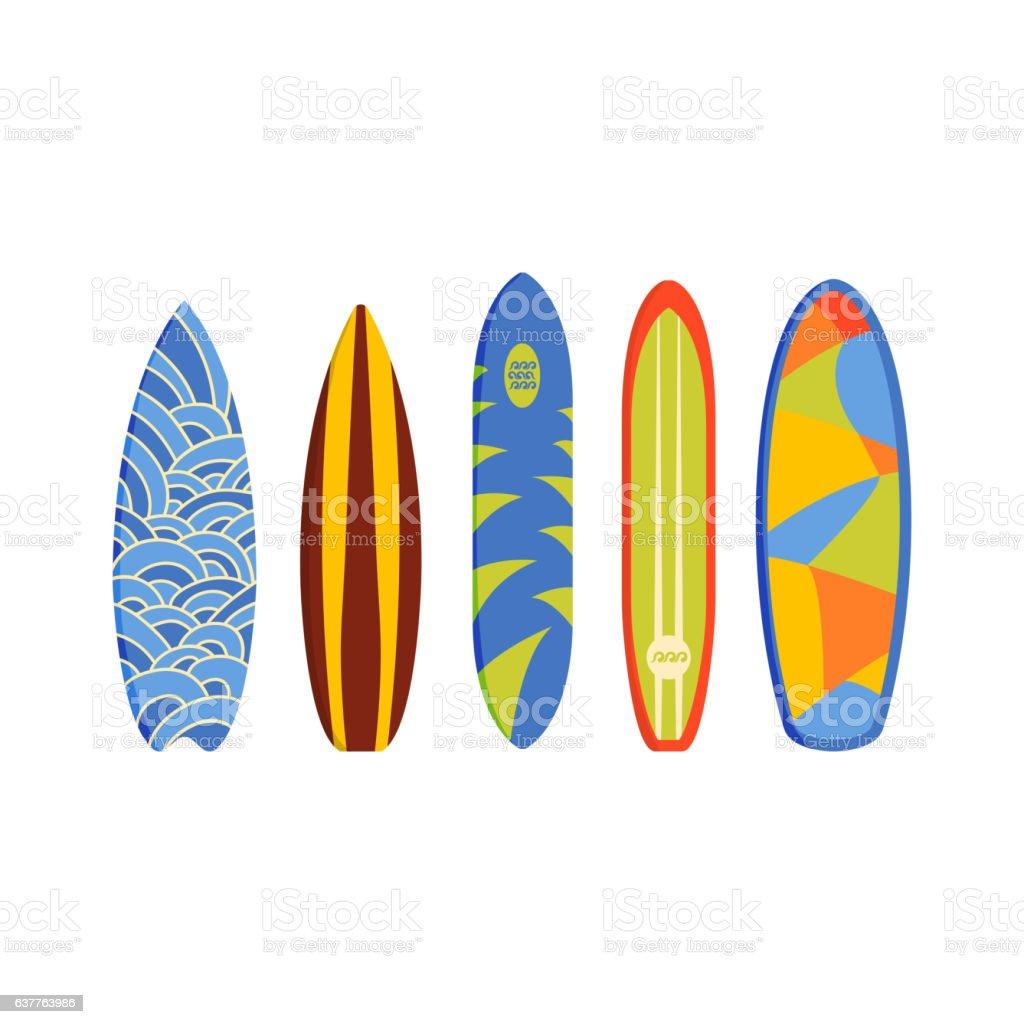 Tavole da surf vettoriale immagini vettoriali stock e - Tavole da surf drift ...