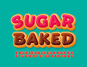 Delicious cake Font