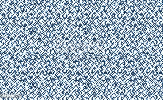 Vector swirl pattern (Chinese auspicious clouds) background textured