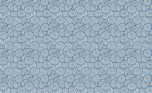 Vector swirl pattern (Chinese auspicious clouds) background textured