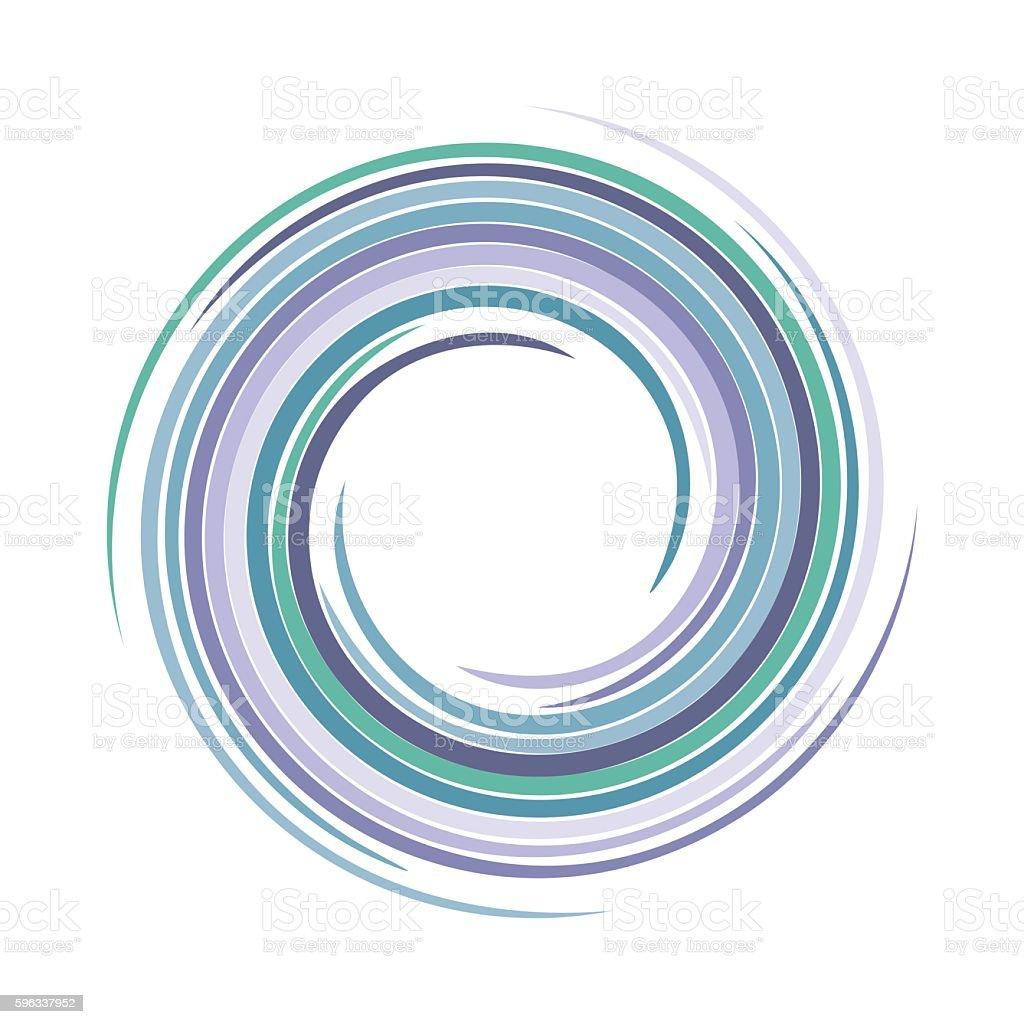 Vector swirling backdrop. Spiral liquid varicoloured surface. Lizenzfreies vector swirling backdrop spiral liquid varicoloured surface stock vektor art und mehr bilder von abstrakt