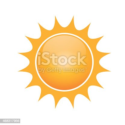 Vector Symbol Of Sun Stock Vector Art More Images Of 2015