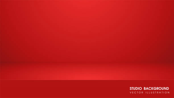 Vector table with red carpet in the studio For making advertising media for selling products. Vector table with red carpet in the studio For making advertising media for selling products. studio stock illustrations