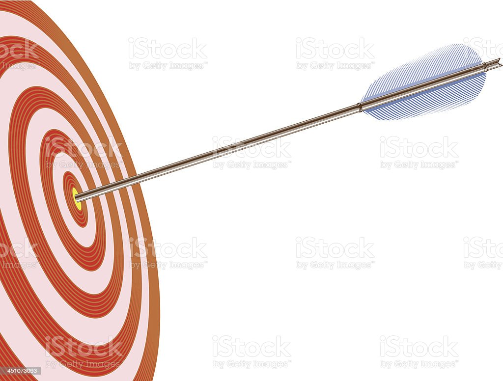 Vector target and arrow royalty-free vector target and arrow stock vector art & more images of accuracy