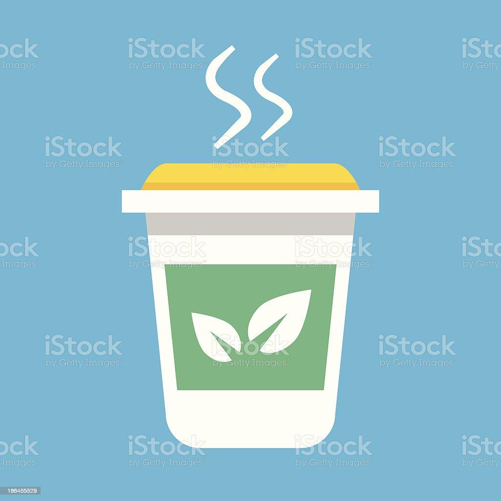 Vector Tea Cup Icon royalty-free stock vector art