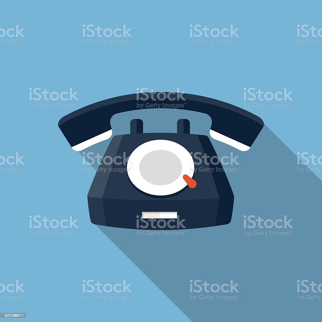 Vector Telephone Icon vector art illustration