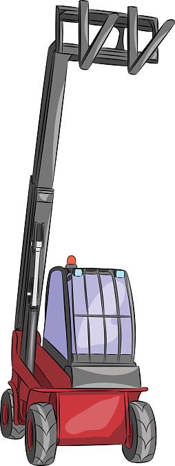 Vector telescopic loader.