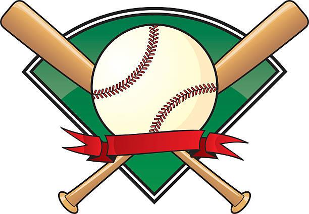 A vector template for a baseball vector art illustration
