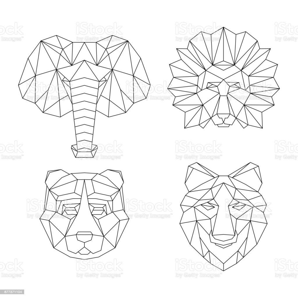 Vector template frame vector art illustration