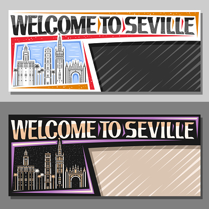 Vector templates for Seville