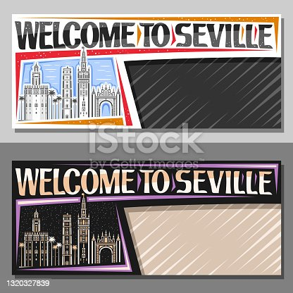 istock Vector templates for Seville 1320327839