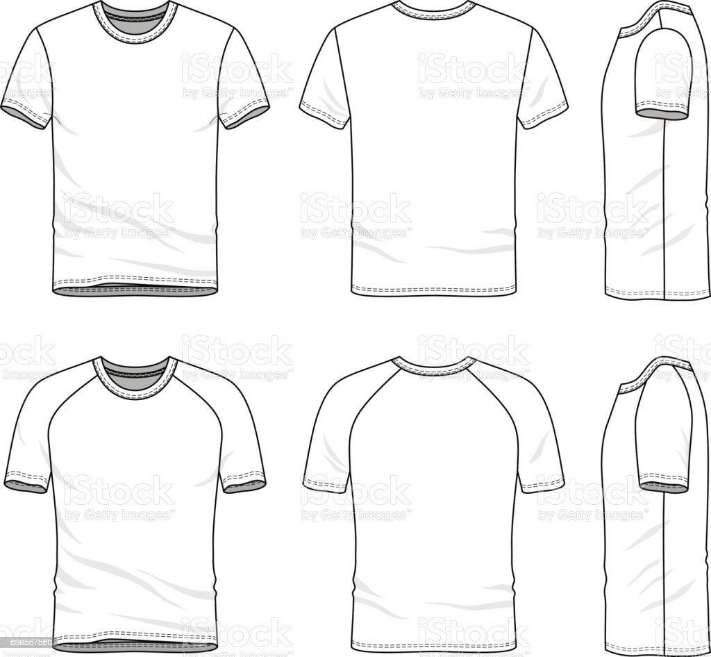 blank t shirt template for design