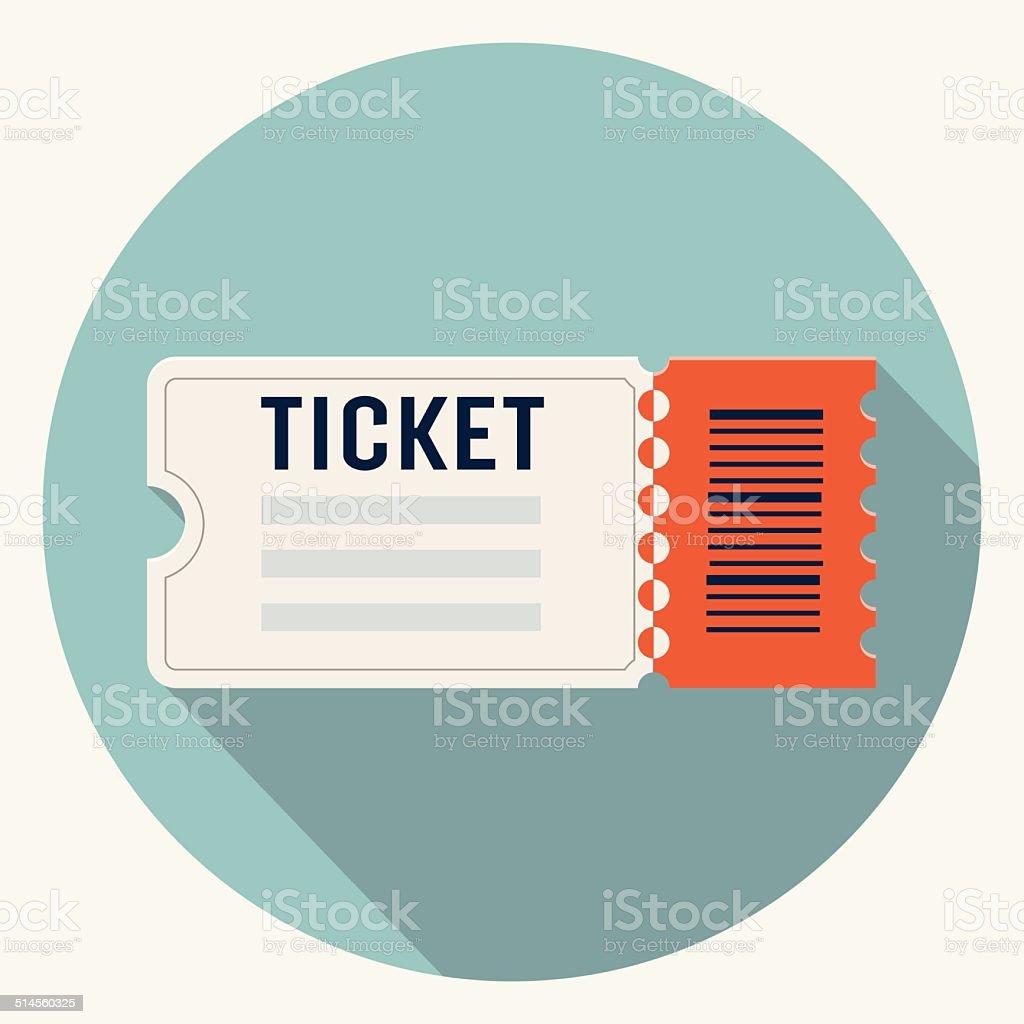 Vector ticket icon