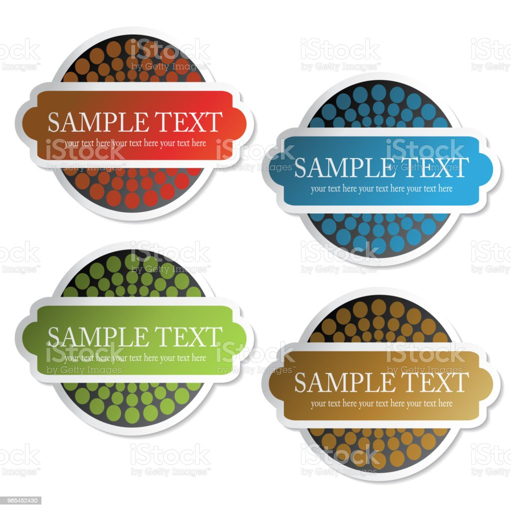 Vector tickets, labels for product, sale information, pricetag royalty-free vector tickets labels for product sale information pricetag stock vector art & more images of adhesive note