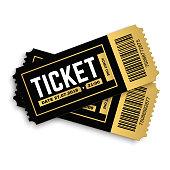 Vector tickets.