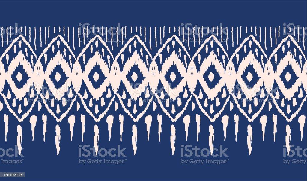 316c26c5 Vector tie dye seamless pattern. Hand drawn shibori print with stripes. Ink  textured japanese