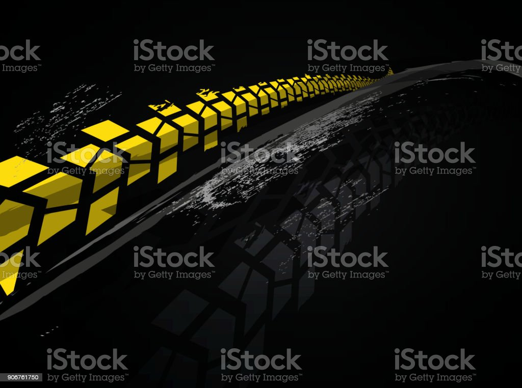 Vector tire background vector art illustration