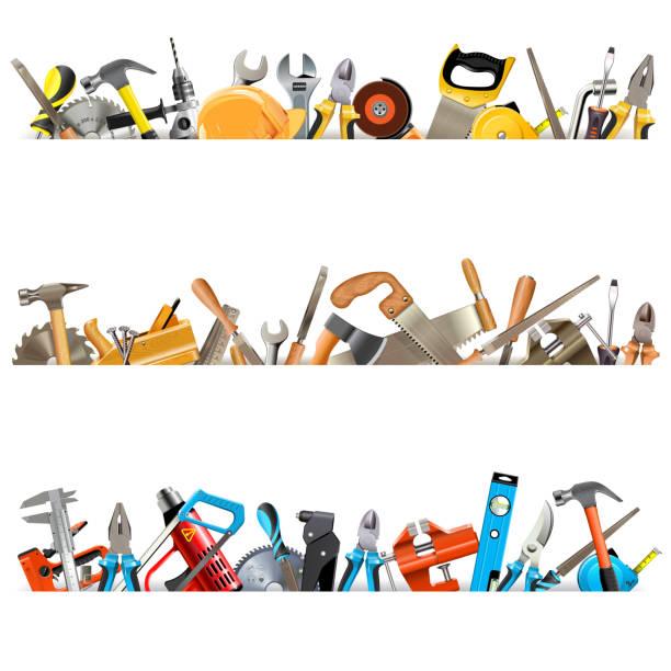 Vektorwerkzeug-Grenzen – Vektorgrafik