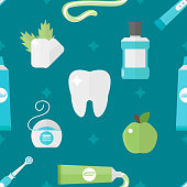Vector tooth health pattern