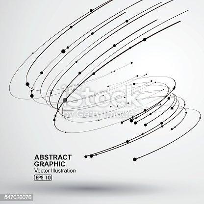 istock Vector Tornado,Abstract graphics. 547026076