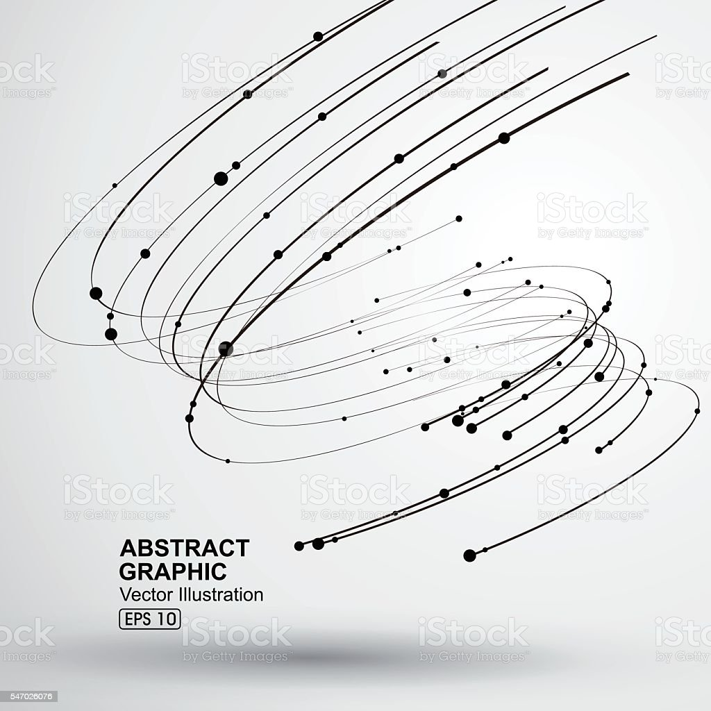 Vector Tornado,Abstract graphics. vector art illustration