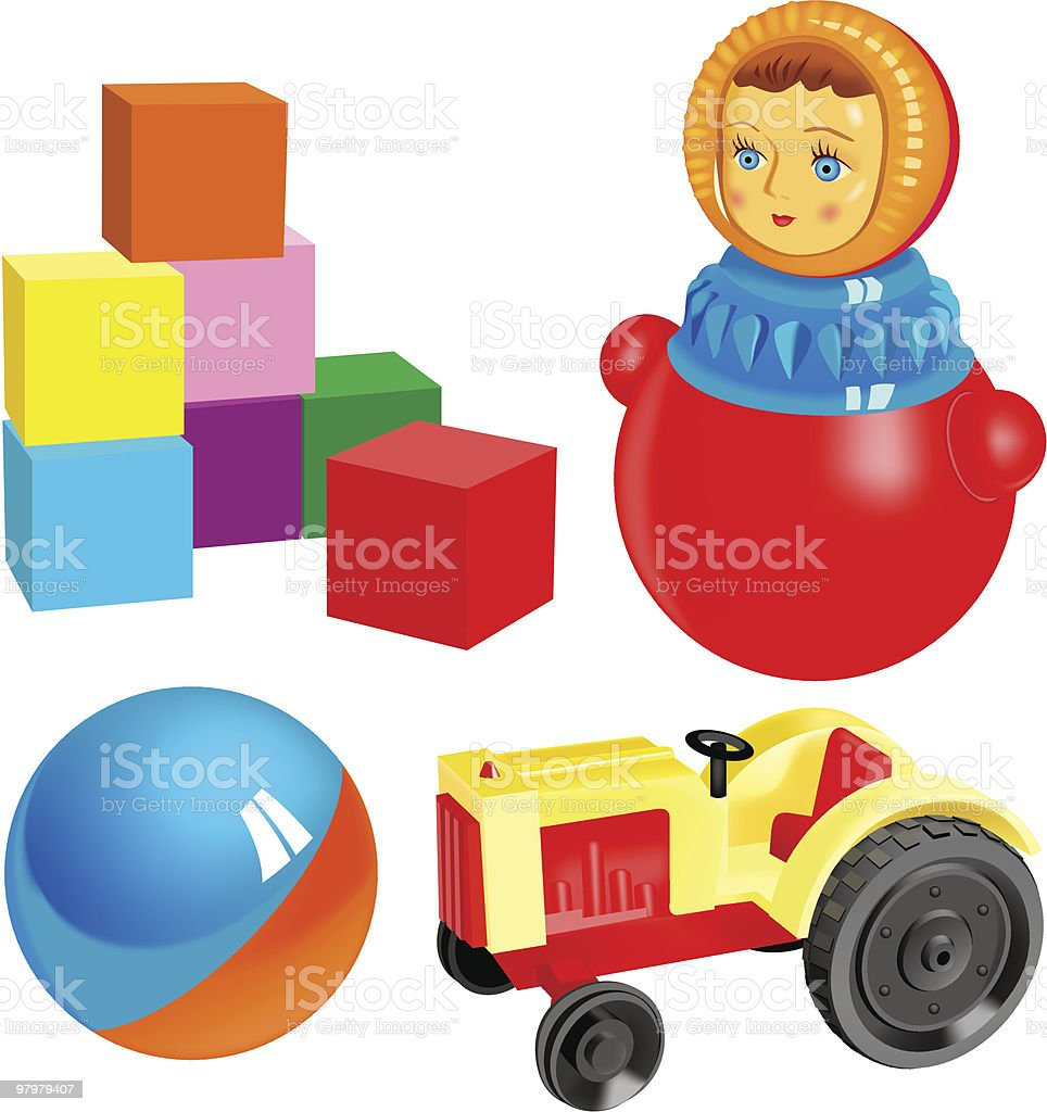 vector toys. set 2 royalty-free vector toys set 2 stock vector art & more images of ball